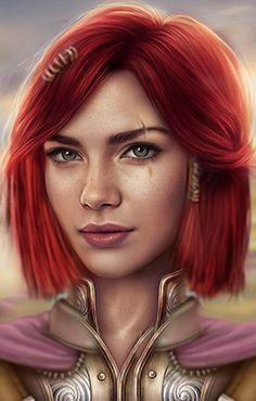 Image result for nwn female dwarf portrait