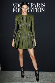 Kendall Jenner in Balmain