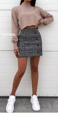 teenager outfits for school . teenager outfits for school cute Komplette Outfits, Teen Fashion Outfits, Girly Outfits, Look Fashion, Spring Outfits, Dress Fashion, School Outfits, College Outfits, Fashion Fall