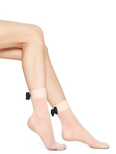 bow cuff sheer anklet