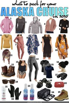 Unsure what to pack for your Alaska cruise? This comprehensive Alaska cruise packing list has everything you need for your trip. Packing For Alaska, Alaska Cruise Tips, Packing List For Cruise, Alaska Travel, Alaska Trip, Packing Tips, Disney Wonder Cruise, Disney Cruise, Cruise Outfits