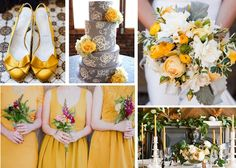 Mellow Mustard #sse #sseblog #mustardyellow #yellowshows #yellowdress #florals #cake