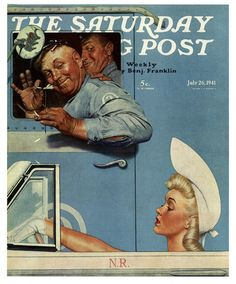 Cover art by Norman Rockwell