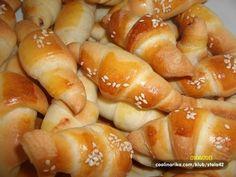 kiflice - iz pekača za kruh
