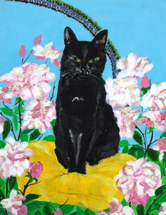 Acrylic on Canvas Pet Portraits, Canvas, Pets, Painting, Animals, Tela, Animales, Animaux, Painting Art