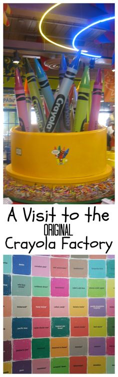 Our visit to the original Crayola Factory - trip report to a spot that was on…