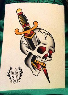 tattoo for men tattoos tattoo tattoo japones tattoo tattoo traditional Animal Skull Tattoos, Pirate Skull Tattoos, Bull Skull Tattoos, Skull Girl Tattoo, Skull Tattoo Design, Girl Skull, Dog Skull, Flash Tradicional, Tattoo Tradicional