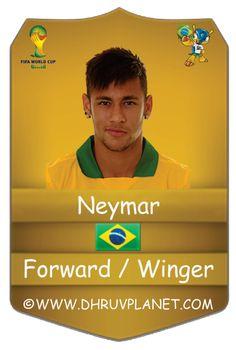 Neymar #son of soil#  favourite player of fifa 2014