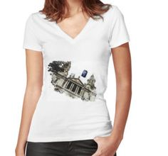 """FASHION CREATIONS by  ELIBET6.: Woman and Man T-Shirt """" Police Box above the Saint..."""