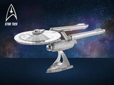Star Trek-Figurer-Montera själv, Tillverkade i lätt stål! CoolStuff.se