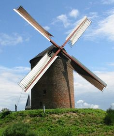 Grafelijke Korenmolen, Zeddam.  A tower mill dating from 1441, the oldest windmill in the Netherlands.
