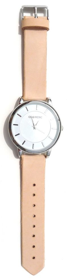 Cold Picnic — Handmade Natural Leather Watch