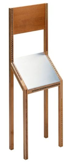 Sedia per visite brevissime. Designed for Zanotta, 1945.