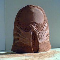 """África.""""maternidad1"""". cerámica. Pilar Posada"""