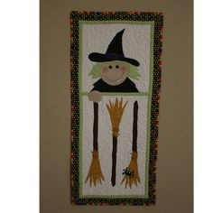 Witch One Table runner/Wall hanging