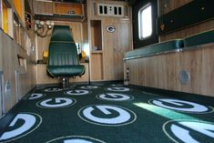 Carpet: Milliken NFL License Broadloom Team Repeat Green Bay Packers, green/gold with hunter green vinyl base New Carpet, Patterned Carpet, Carpet Colors, Green Bay Packers, Hunter Green, Carpet Runner, Vintage Patterns, Green And Gold, Backsplash
