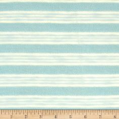 Stretch Sweater Knit Sheer Stripe Mint Green from @fabricdotcom%0A%0AThis knit fabric is perfect to create sweaters, cardigans, tops and more. It features a soft hand and 50% stretch. It features horizontal yarn dyed stripes of sheer stripes and sweater knit.