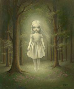 62 Ghost Girl by Mark Ryden