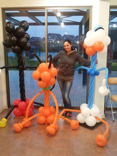 Balloon siluett Disney Silueta Disney globos