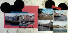 Scrapbooking Disney Boardwalk