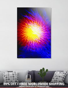 Discover «Clashing Elements», Limited Edition Acrylic Glass Print by Glink - From $99 - Curioos