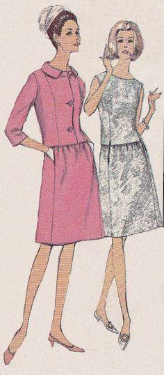 Vintage Sewing Pattern Illustrations On Pinterest