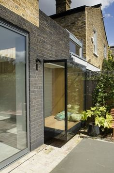 Picture window seat, House for Two Artists, Gort Scott Architects