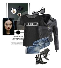 """""""Killin' It"""" by monmondefou ❤ liked on Polyvore featuring Wrap Sexy Dresses, Dress Outfits, Complete Outfits, Modern Jewelry, Feel Good, Fashion Accessories, This Or That Questions, Polyvore, Clothes"""