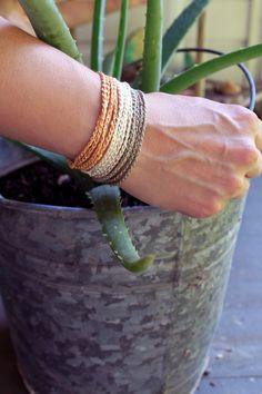crochet wrap bracelet