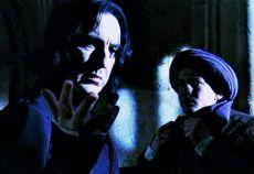 Severus Snape, Quirinus Quirell