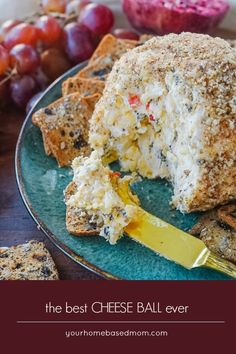 This is the only cheese ball recipe you will ever need.  I can honestly say it's the BEST cheese ball I have ever had! via @leighannewilkes