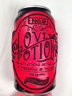 Vintage Apothecary Drink Disguise: LOVE POTION