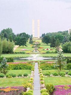 International Peace Garden in North Dakota.