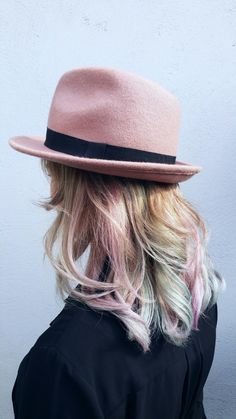 Pastel haircolors by