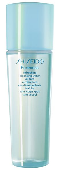 #Shiseido Pureness Refreshing Cleansing Water Oil-Free Alcohol-Free