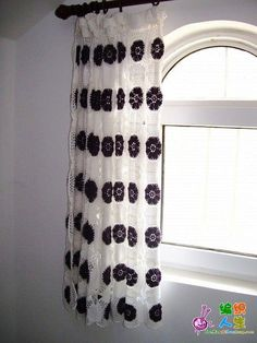 Free Crochet Curtain Pattern
