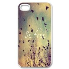 Apple iPhone 5 5G 5S Be Free Birds Cute Quote Retro Vintage WHITE Sides Slim HARD Case Skin Cover Protector Accessory Vintage Retro Unique AT&T Sprint Verizon Virgin Mobile Generic,http://www.amazon.com/dp/B00BR8560I/ref=cm_sw_r_pi_dp_cpKRsb0M4H8VYCQA