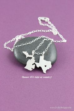 Hey, I found this really awesome Etsy listing at https://www.etsy.com/listing/184484446/sale-long-distance-love-gift-two-states