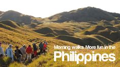 MORNING WALKS. More FUN in the Philippines! Places Around The World, Around The Worlds, Philippines Tourism, Smiling People, Visayas, Mindanao, Natural Resources, Pinoy, Walks
