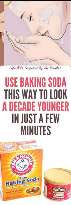 Use Baking Soda This Way to Look a Decade Younger in Just a Few Minutes!!!