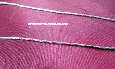 316L Surgical Steel Mariner Necklace 1mm