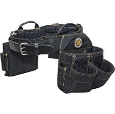 Short_Desc: Combo belts include: Molded Air-Channel Support Belt, Electrician's tool pouch, large 9 pocket tool pouch, hammer holster and tape holder. Features Air-Channel ventilation & contoured back support for maximum comfort Strengthened by a. Large Bags, Small Bags, Best Tool Belt, Electrician Tool Pouch, Electrician Humor, Tool Tote, Cheap Power Tools, Woodworking Power Tools, Woodshop Tools