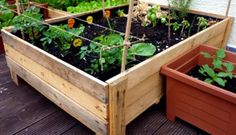 How To Build Planter Boxes For Garden Container Gardening Diy Planter Box From Pallets Foxy Folksy