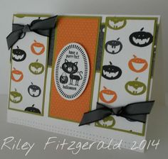 Stampin' with Riley: Tricky Treats
