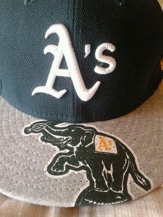a955dcfff82de NEW Era Oakland A s Athletics fitted 59FIFTY 7 1 8 baseball cap hat MLB  Cespedes