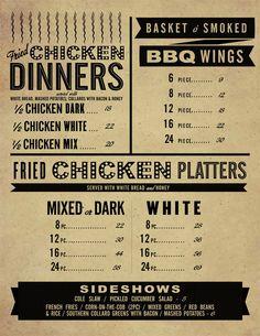 46 best typography in menu design images on pinterest restaurant