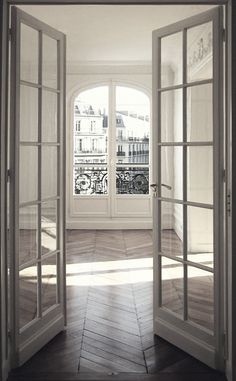 floors and doors & white interior
