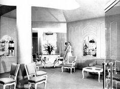 Dior in Havana,Cuba, 1950's El Encanto Department Store,Salon Frances