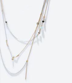 ZARA - SALDOS - Untitled jewels collection chain necklace