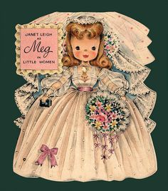 Janet Leigh as Meg - Hallmark Dolls Collectors Album  From the Land of Make Believe Doll # 90